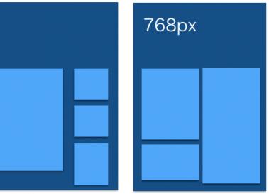 jQuery masonryで流れるようにコンテンツが動くレスポンシブWebデザインを構築