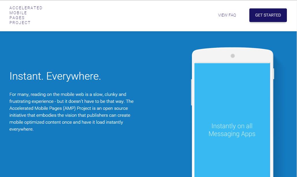 Googleなどが立ち上げたAMPが静的ページを超高速化する!