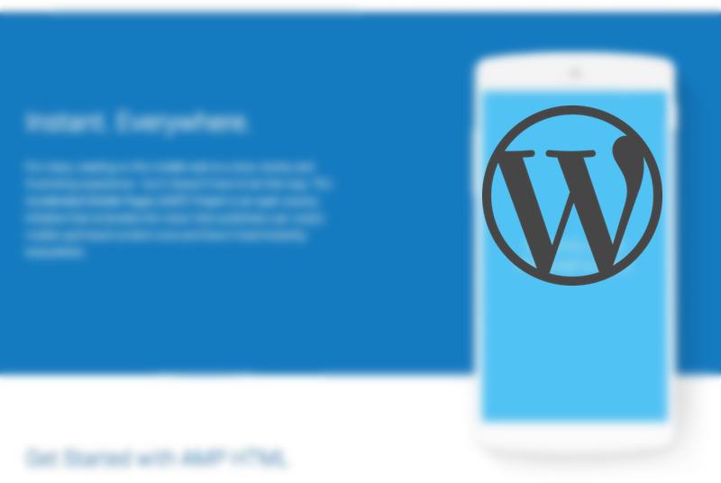 WordPressのプラグインで簡単にAMP対応をする方法