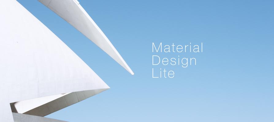 マテリアルデザインのガイドラインと基本的な実装