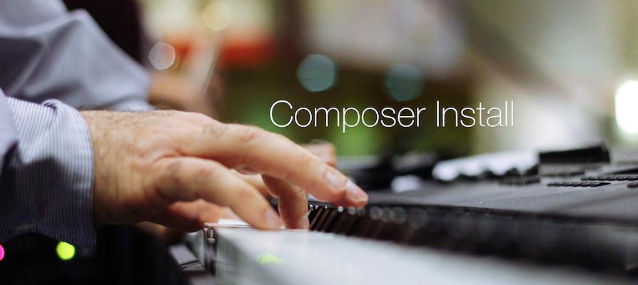 PHPフレームワーク導入準備〜Composerインストール編