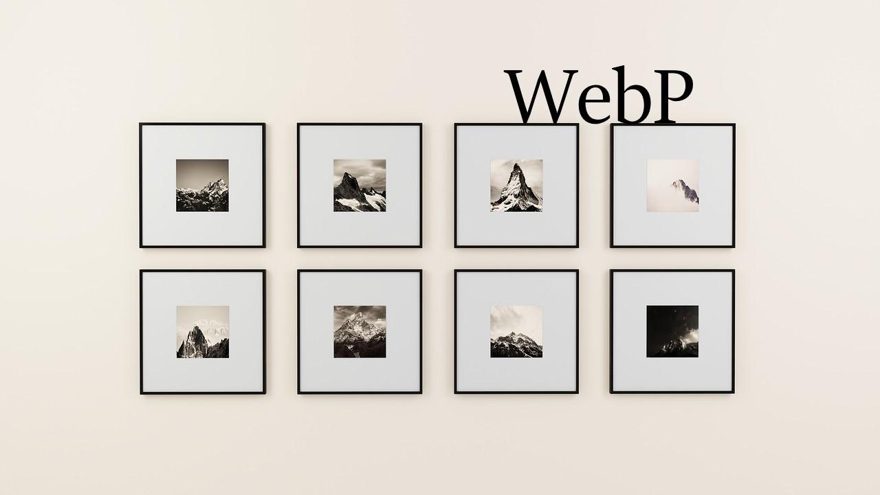 次世代の画像フォーマット「WebP」でサイト表示速度の改善に取り組もう